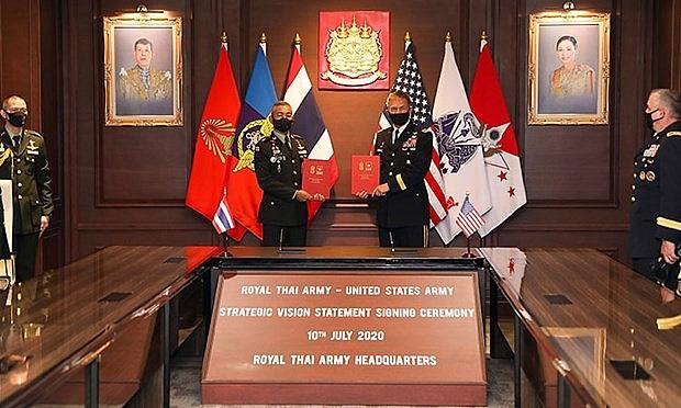 thailand us sign strategic vision statement