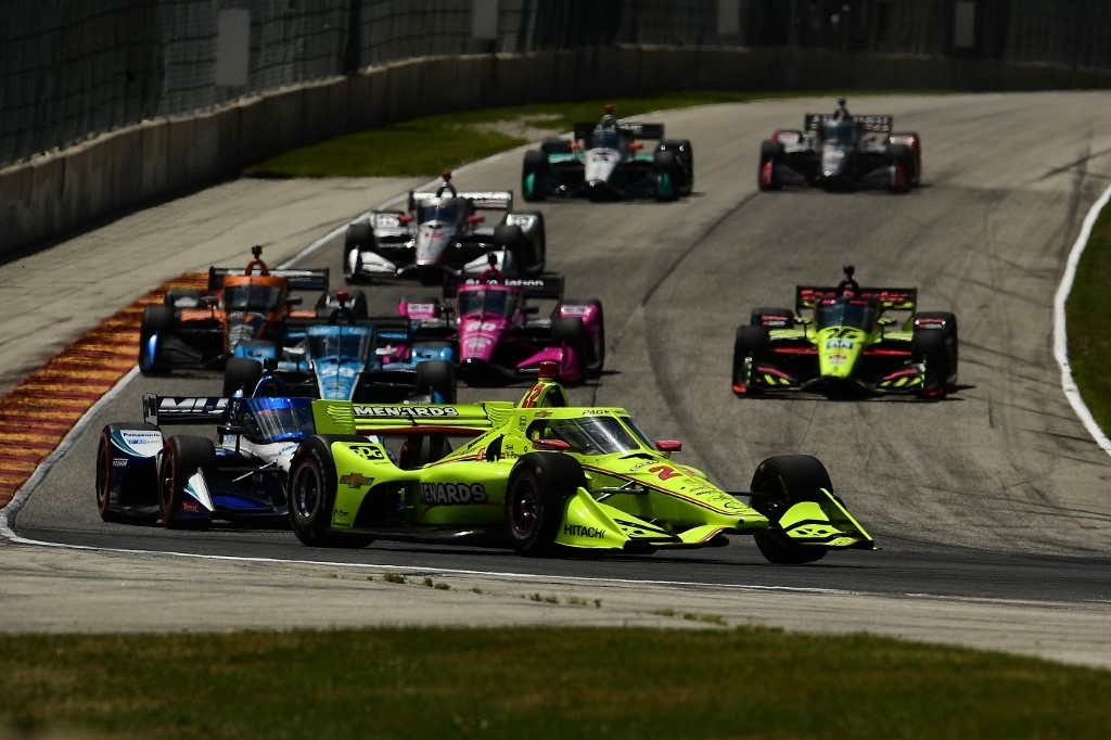 auto racing indycar grand prix of road america results