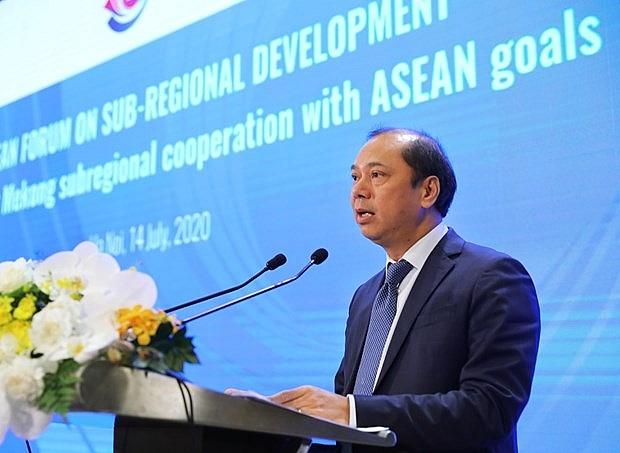 asean looks to boost sub regional development