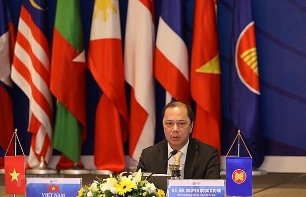 online meeting talks post 2025 asean community vision