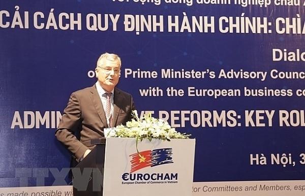 european firms more positive about vietnams business climate