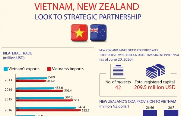 vietnam new zealand look to strategic partnership infographics