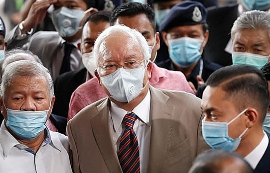 former malaysian pm najib sentenced to 12 years in prison