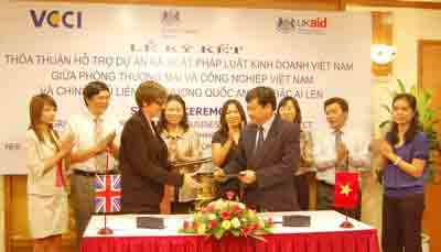 uk and vietnam cooperate on business law review project