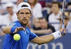 hewitt melzer ousted at winston salem tennis