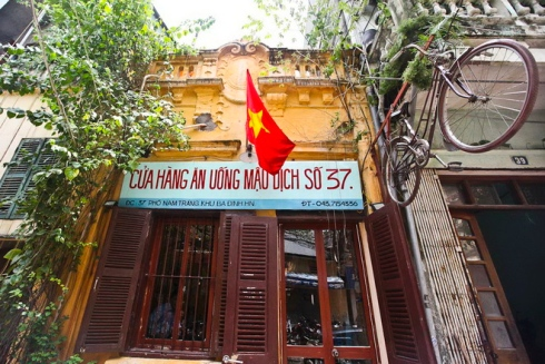 a pre 1986 eatery of the subsidy period in hanoi