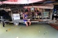 philippines storm brings more floods landslides