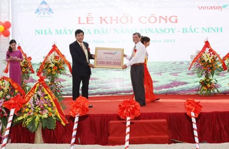 vietnam has the fifth biggest soybean milk plant