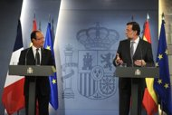 france spain urge action to curb market rates