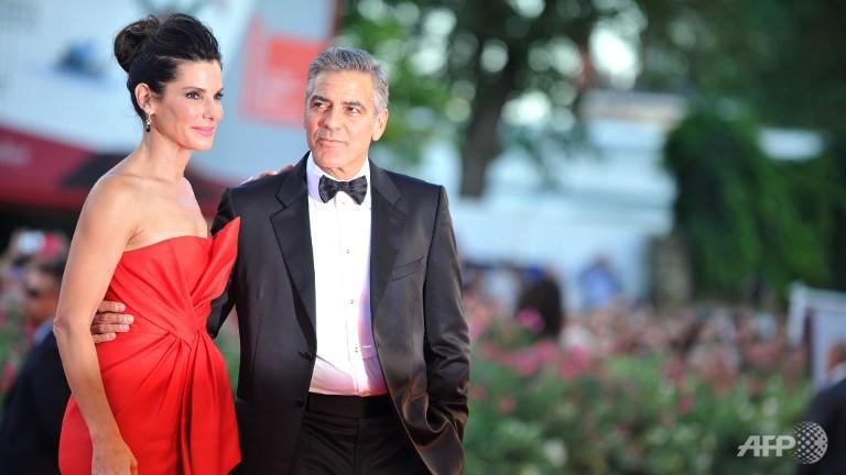 Clooney, Bullock space thriller opens Venice film festival