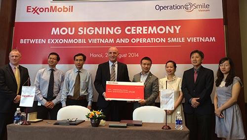 ExxonMobil helps bring smile to Vietnamese children