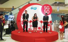 Singapore celebrates 50th anniversary in SC Vivo City