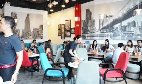 foreign coffee fast food retreat from viet nam