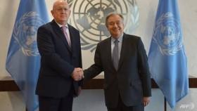 Russia's UN envoy sees 'no sensation' from US sanctions