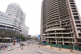 Abandoned construction sites raise Ha Noi debt