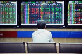 Market declines on fragile investor confidence