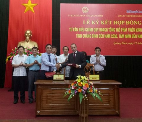 Quang Binh hires int'l consultant for developing its master plan