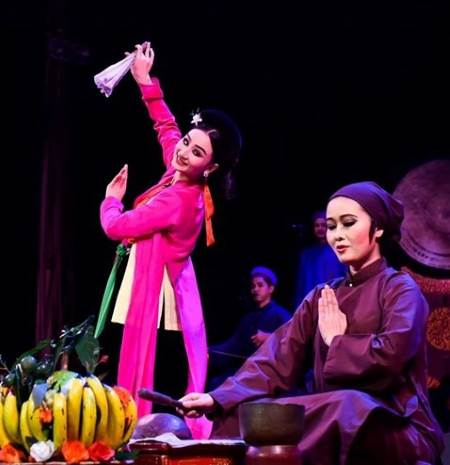 Traditional theatre's performance marks World Reconciliation Day