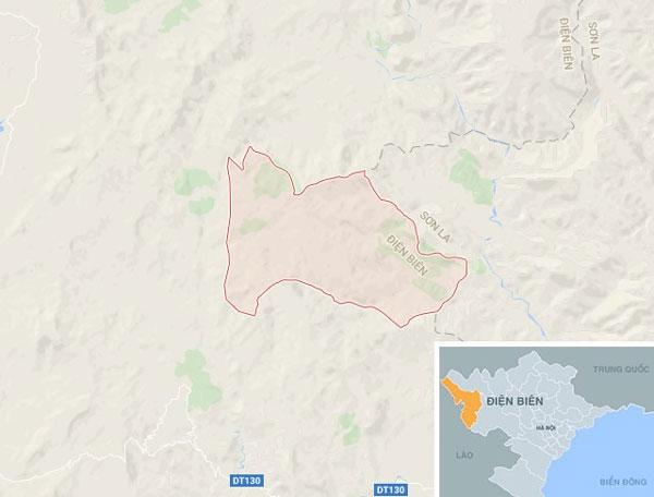fairly strong earthquake hits dien bien