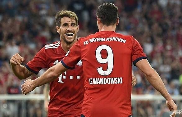 bayern beat man united in final pre season test