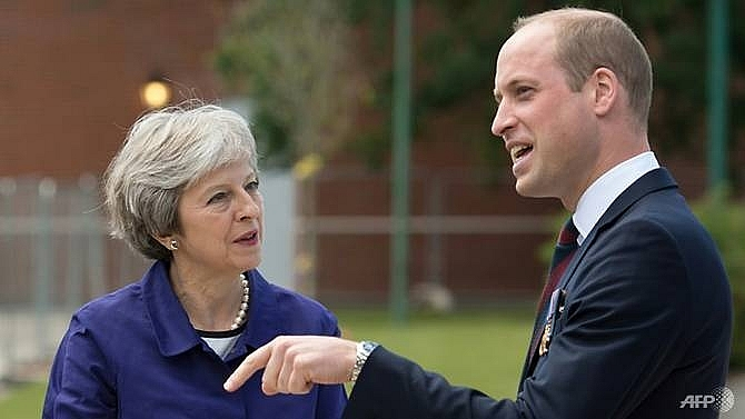 theresa may prince william mark centenary of key wwi battle