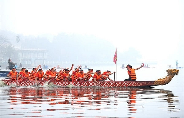 hanoi to host annual dragon boat race