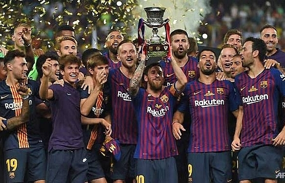 Barcelona fight back to win Spanish Supercup