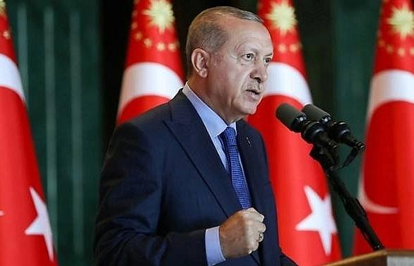 erdogan says turkey to boycott us electronic goods