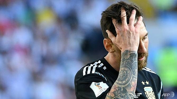 messi to skip argentina friendlies