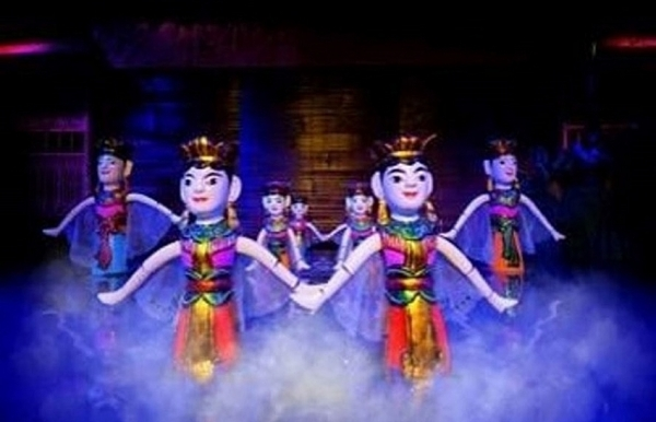 first puppetry festival to be held in hcm city