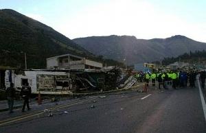 bus in deadly ecuador crash carried half a ton of marijuana