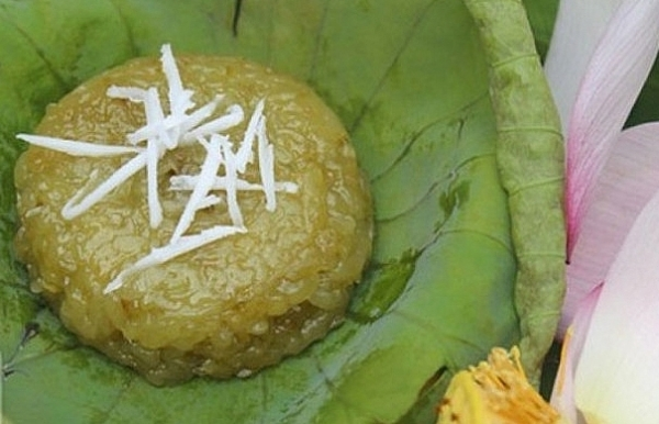 browned green sticky rice a fantastic idea for dessert made from com