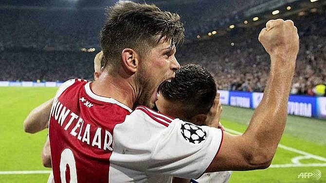 ajax take huge step to champions league group stage