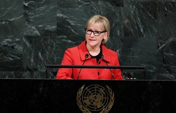 sweden launches feminist foreign policy manual