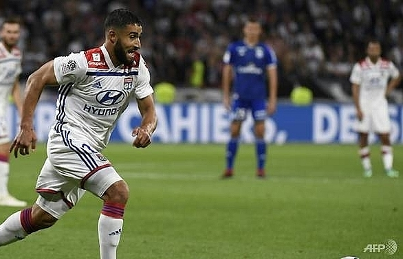 fekir returns as lyon brush aside strasbourg