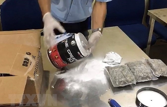illegal drug trafficking chain cracked down