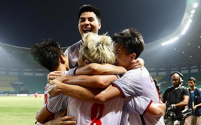 vietnam u23 football team makes history again