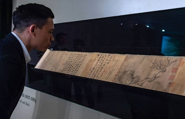 ancient chinese painting expected to fetch us 51 million