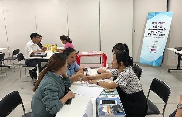 aeon vietnam promotes local products to help them enter supply chain