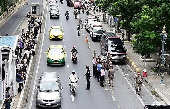 six bombs explode in bangkok as city hosts major security summit