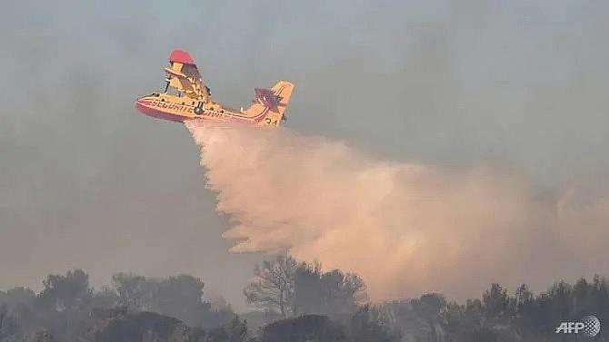 pilot of firefighting plane dies in france