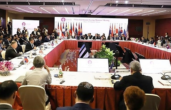 9th eas foreign ministers meeting opens in bangkok