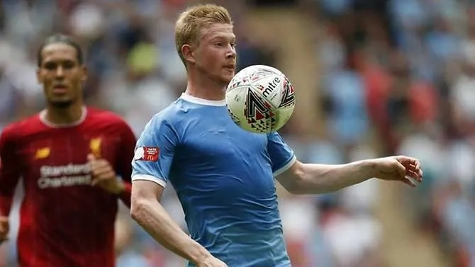 de bruyne says man city liverpool not yet physically ready