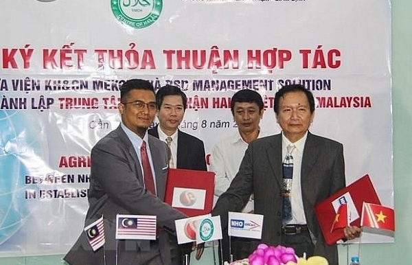 vietnam malaysia halal certification centre established in can tho