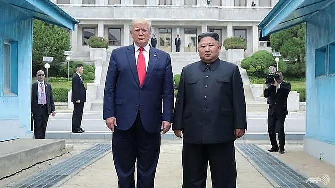 trump says north koreas kim wants to resume nuclear talks
