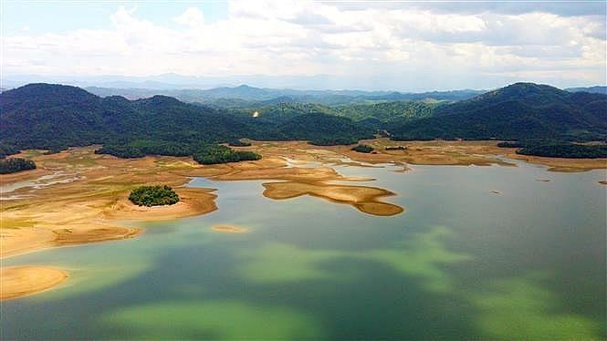 ke go lake eco tourism destination in vietnam