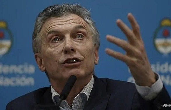 argentine president announces salary hikes tax cuts after poll setback