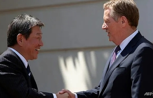 japan us reach broad agreement on trade deal reports
