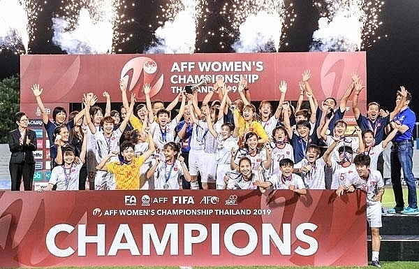 vietnam come to the throne at aff womens championship