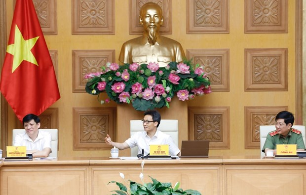 deputy pm pandemic fight should concentrate on high risk areas